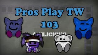 Teeworlds - Pros play TW 103: You are INSANE bro!